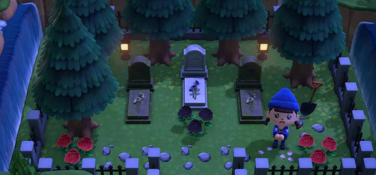 Animal Crossing: New Horizons Graveyard Design Ideas & Custom Cemeteries