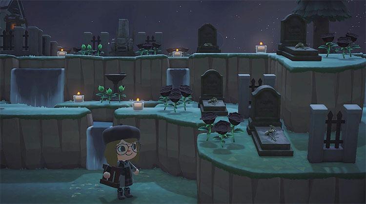 Multi-Level Graveyard Idea for ACNH