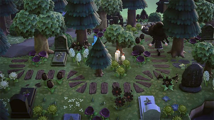 Forest Cemetery in Animal Crossing: New Horizons