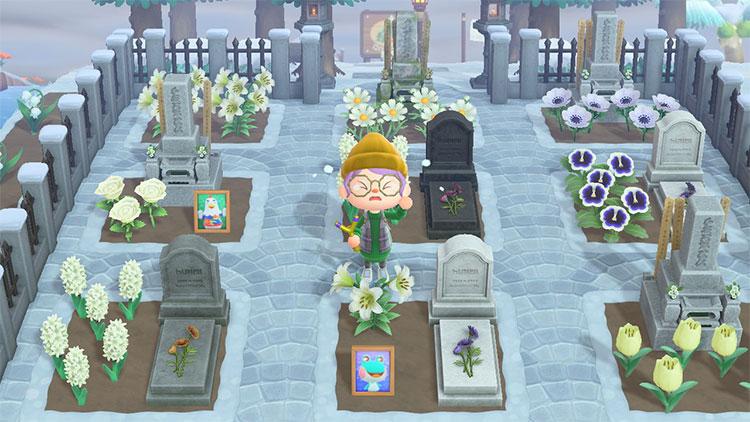 Lost Villagers Graveyard Idea in ACNH