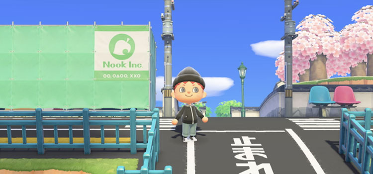 Tokyo Streets in Animal Crossing: New Horizons