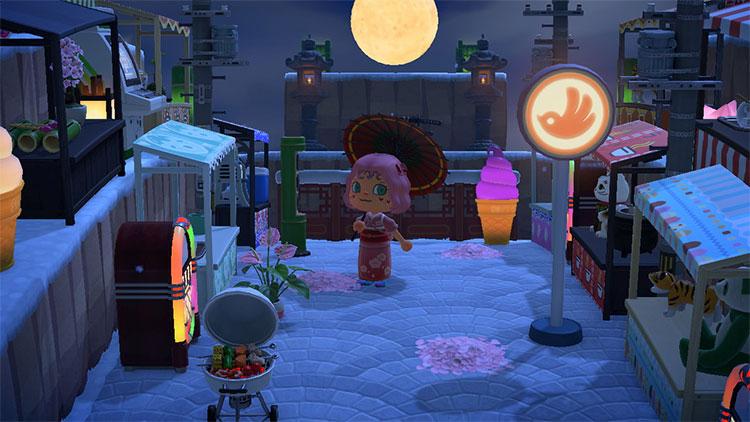 Japanese Festival Marketplace Idea - ACNH