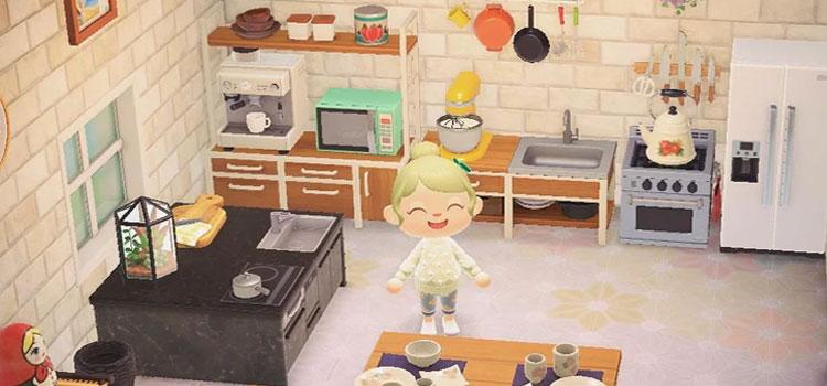 20 Kitchen Design Ideas For Animal Crossing New Horizons Fandomspot