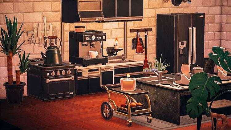 Contemporary Modern Kitchen Idea - ACNH