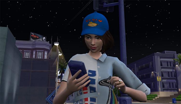 K-Pop Star Mod Sims 4 CC