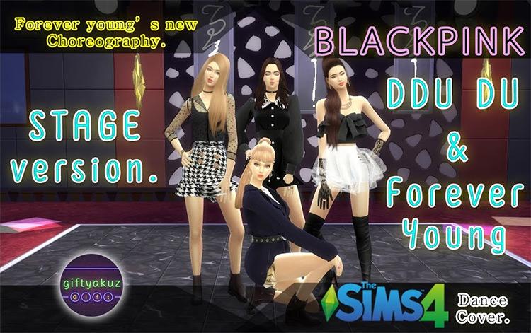 DDU-DU DDU-DU & Forever Young Dance Cover TS4 CC