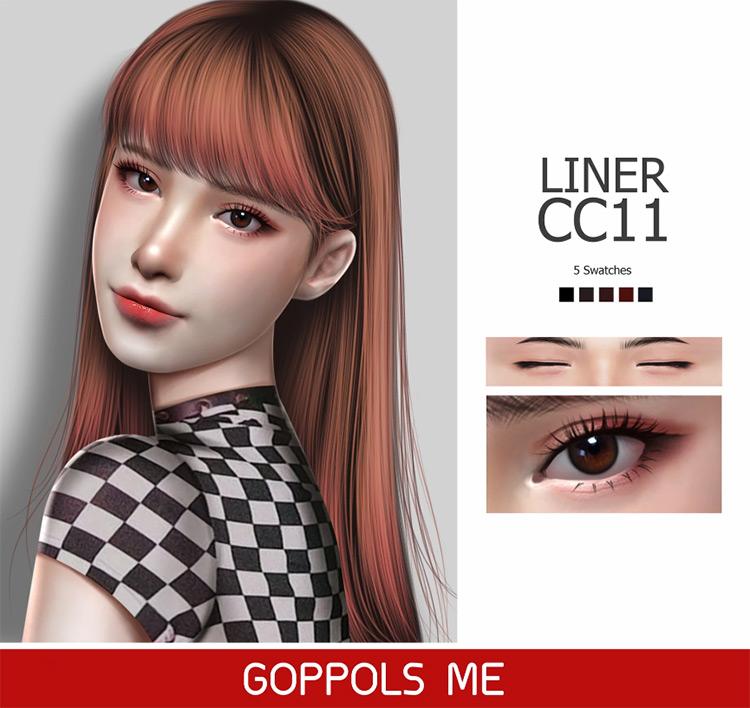 Liner CC11 Sims 4 CC