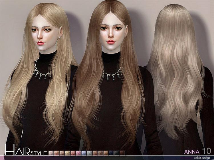 Anna Sims 4 CC screenshot