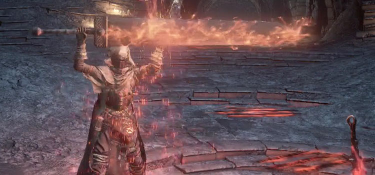 Fire Broadsword DS3 Screenshot