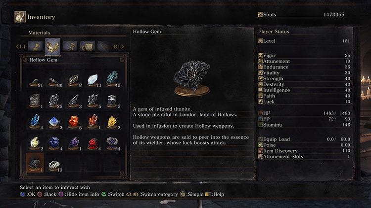 Hollow Dark Souls 3