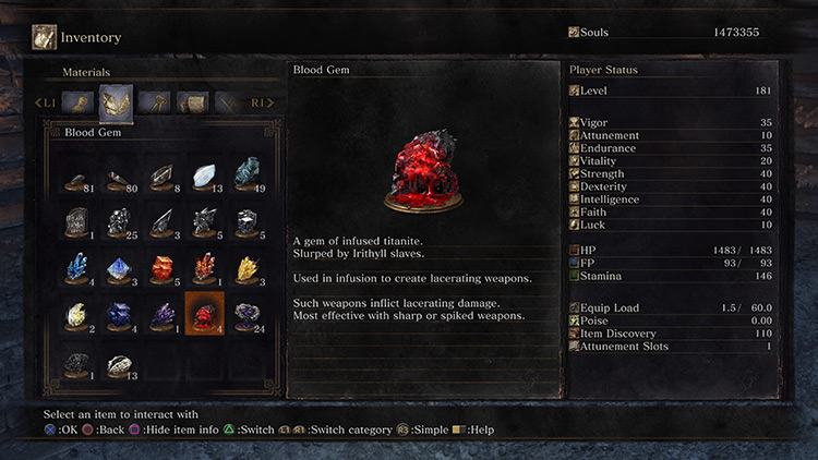Blood Dark Souls 3 screenshot