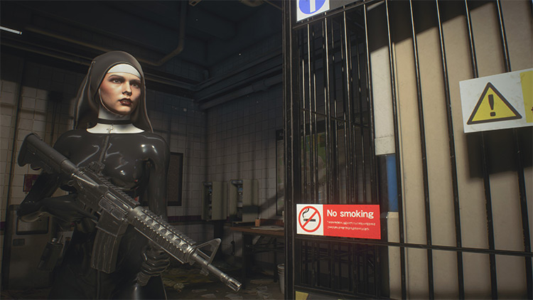 Saint Resident Evil 3 Remake mod screenshot