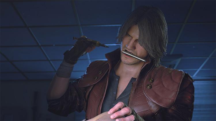 Dante (Carlos) mod for Resident Evil 3 Remake