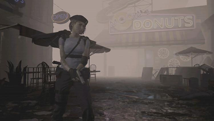Silent Hill Inspired Reshade RE3 Remake mod