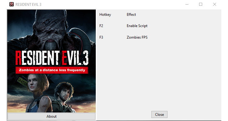 FPS Zombies mod for Resident Evil 3 Remake