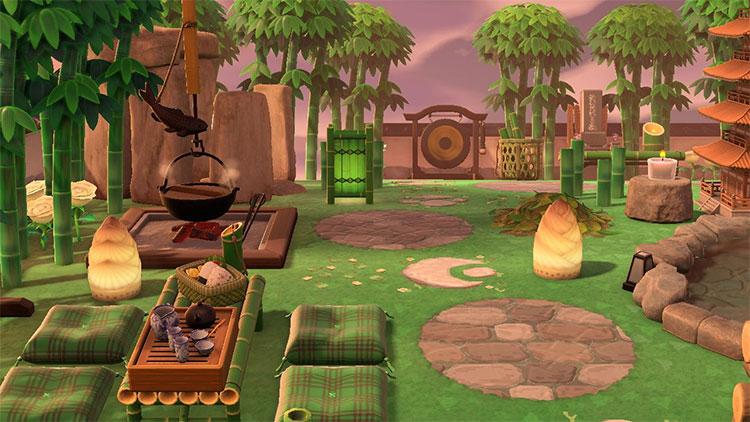 Bamboo Forest Zen Idea - ACNH