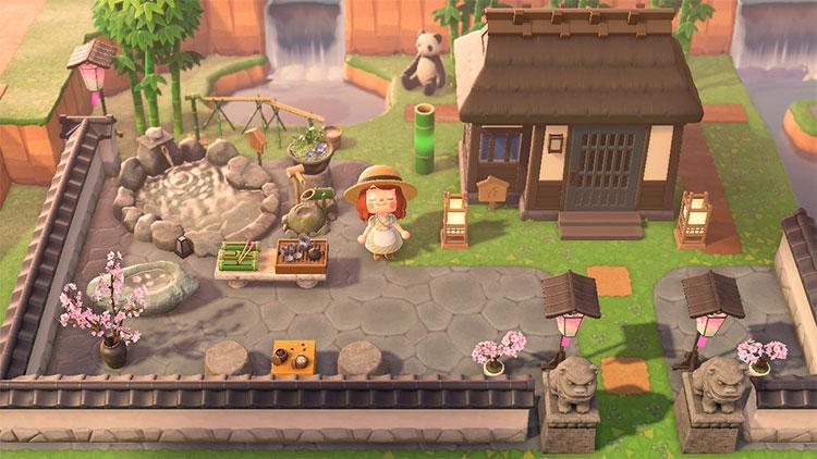 Custom Zen Yard Idea - ACNH