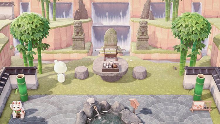 Zen Picnic Area - ACNH