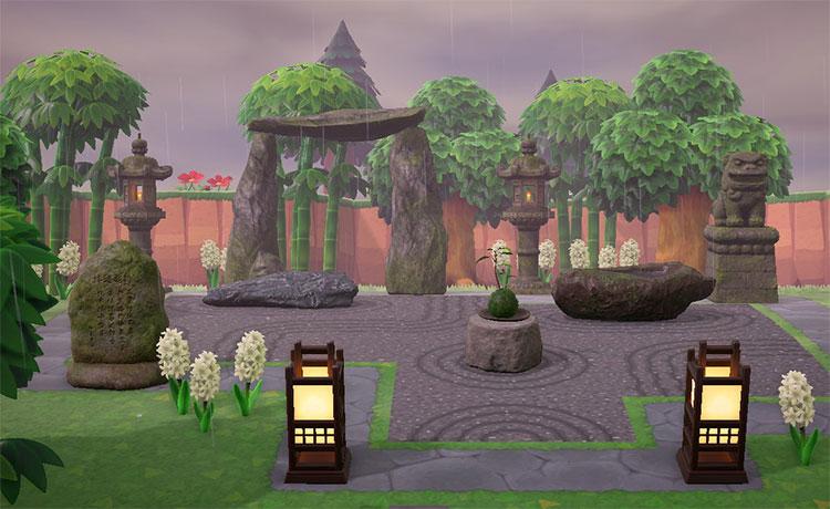 Expanded Zen Garden Area - ACNH
