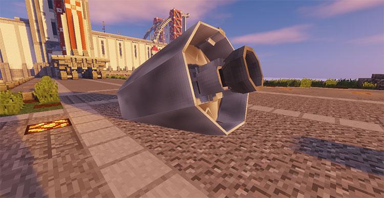 SpaceCraftX Mod Preview - Minecraft