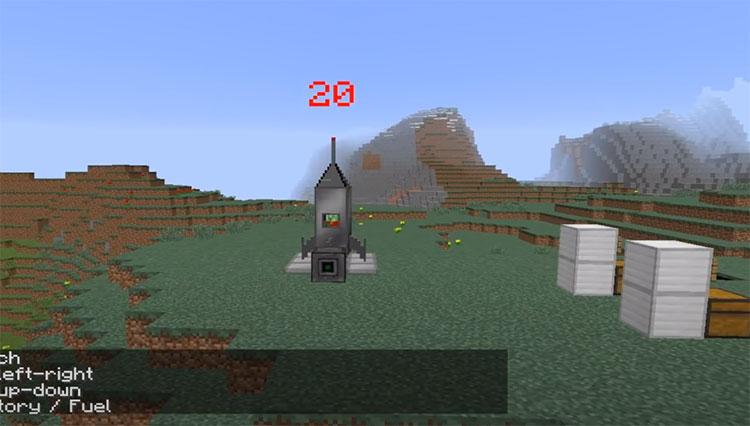 Galacticraft Minecraft Mod Screenshot