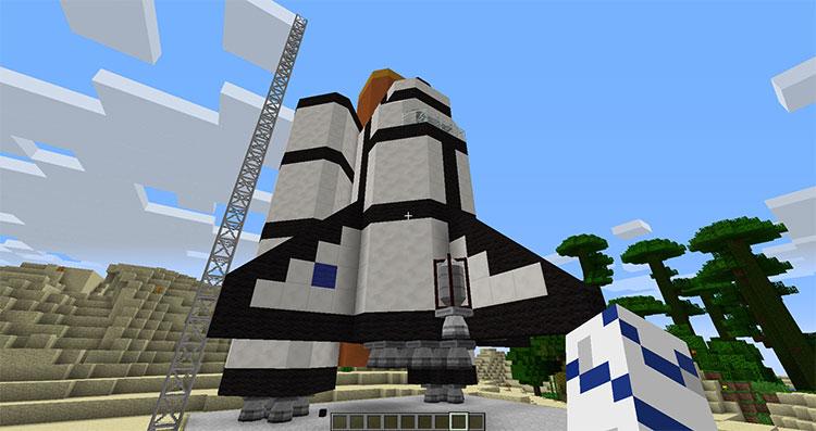 Advanced Rocketry Minecraft Mod Screenshot