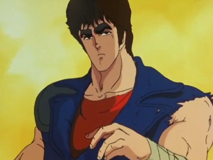 Kenshiro from Fist of the North Star anime