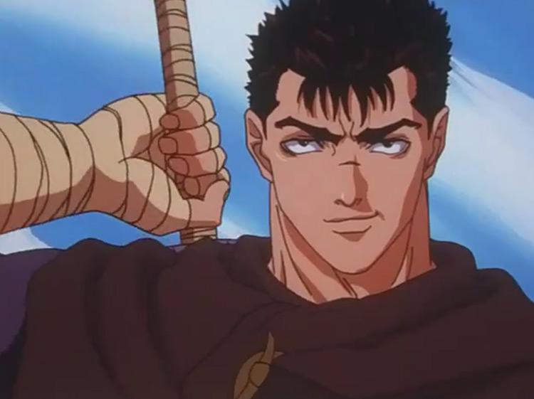 Guts in Berserk anime