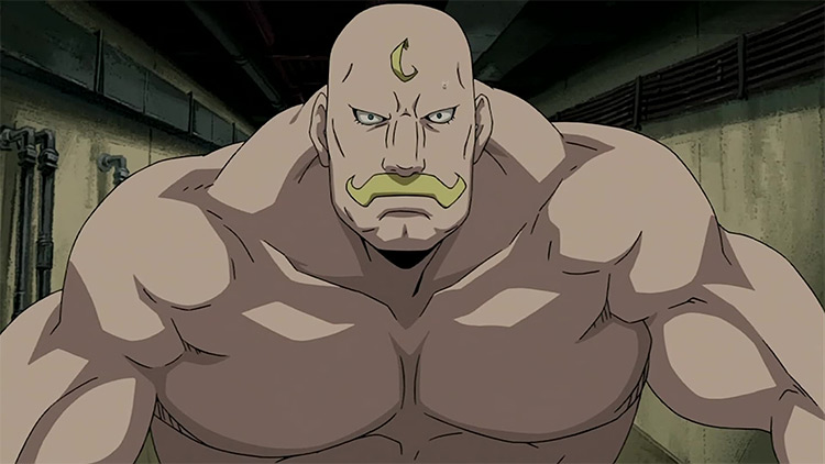 Alex Louis Armstrong in Fullmetal Alchemist: Brotherhood