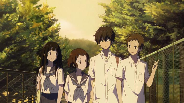 Hyouka anime screenshot