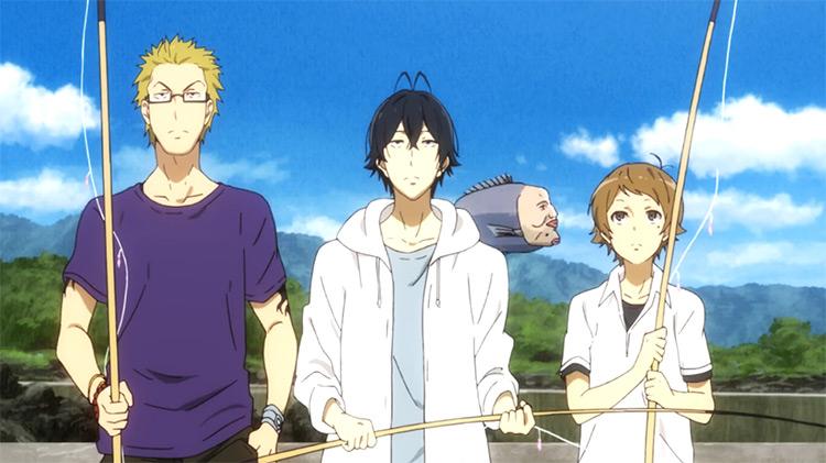 Barakamon anime screenshot