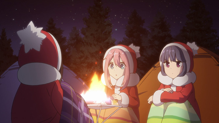 Laid-Back Camp anime