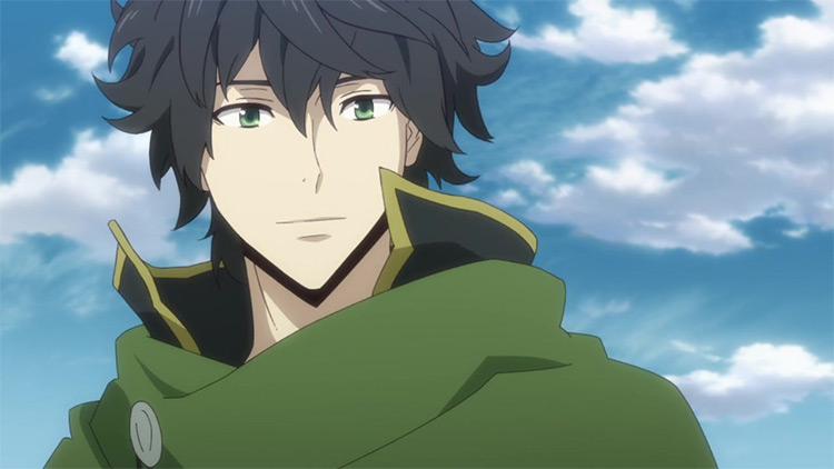 Naofumi Iwatani in The Rising of the Shield Hero