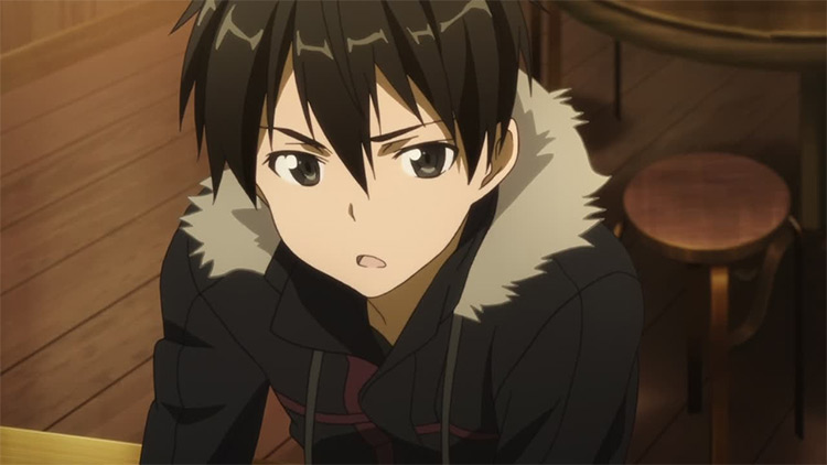 Kazuto Kirigaya in Sword Art Online anime