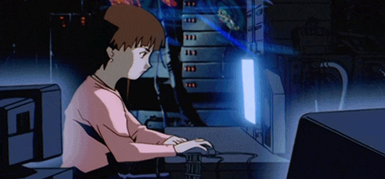 Lain Iwakura in Serial Experiments Lain