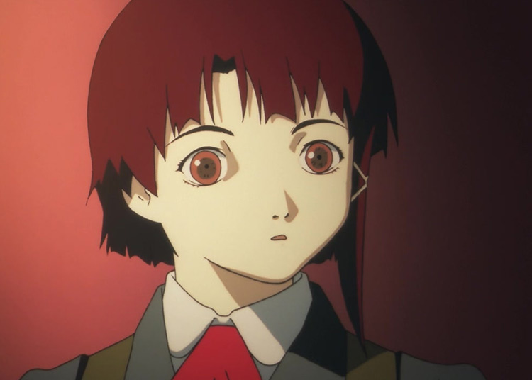 Lain Iwakura from Serial Experiments Lain anime