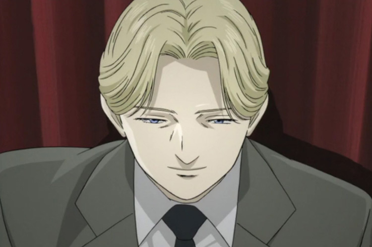 Johan Liebert from Monster anime