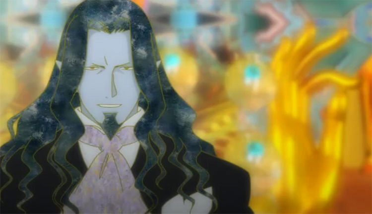 The Count of Monte Cristo in Gankutsuou: The Count of Monte Cristo