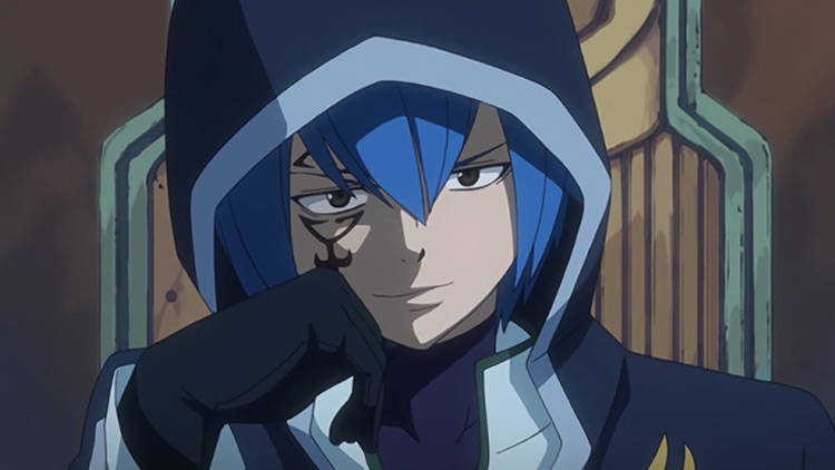 Mystogan from Fairy Tail anime