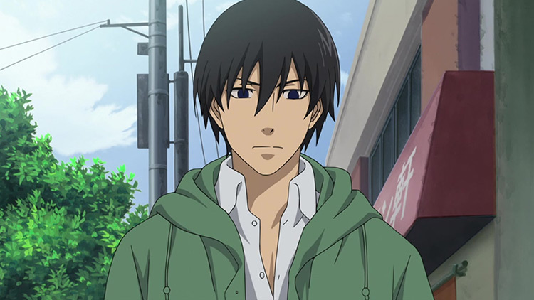 Hei from Darker than Black anime