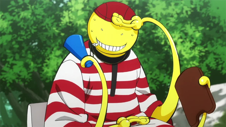 Koro-sensei from Assassination Classroom anime