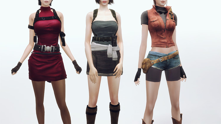 Resident Evil Character Pack - The Sims 4