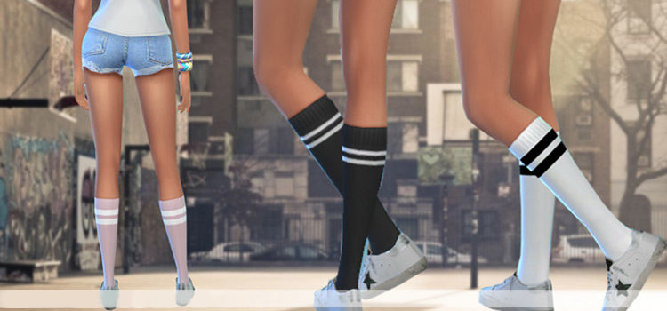 Sims 4 Socks CC: All The Best Pairs For Male + Female Sims