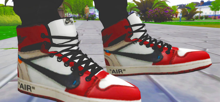 Nike Air Sneakers CC for The Sims 4
