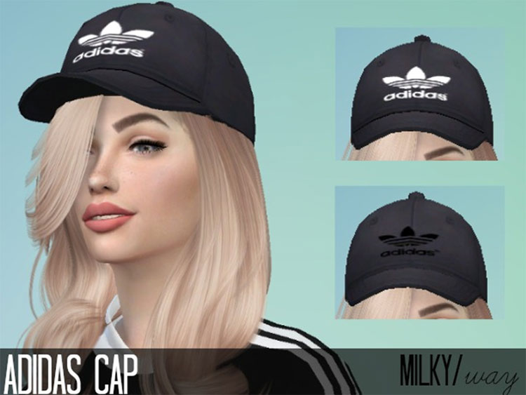 Adidas Hat CC for The Sims 4