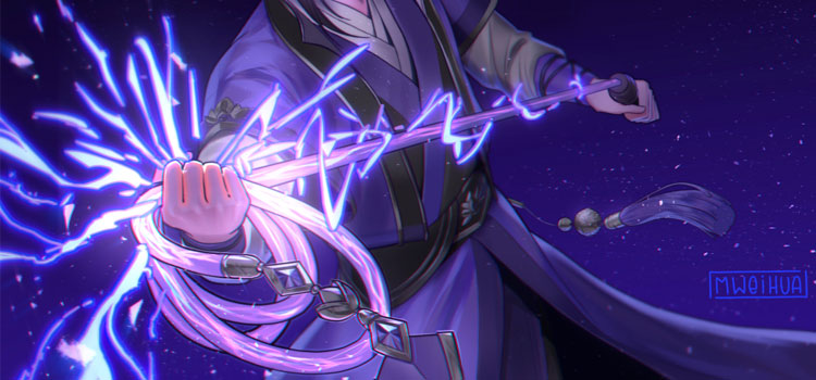 MDZS Lightning Whip Digital Painting
