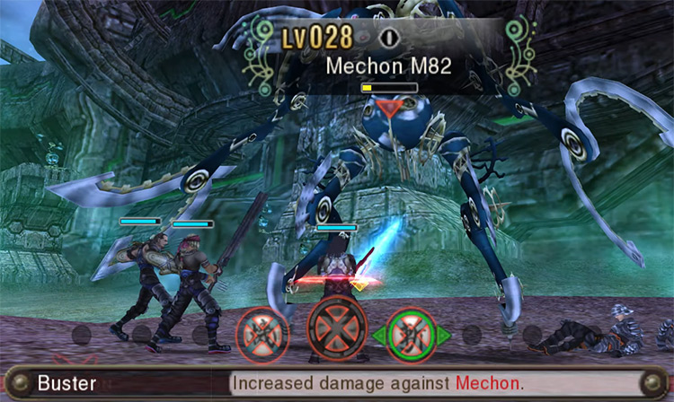 Xenoblade Chronicles 3D gameplay