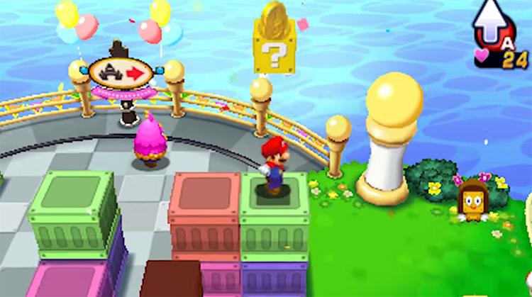Mario & Luigi: Dream Team gameplay