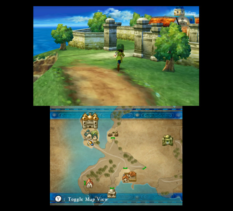 Dragon Quest VII: Fragments of the Forgotten Past gameplay