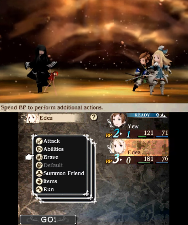 Bravely Second: End Layer gameplay